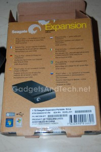 1TB Seagate Expansion Portable Drive