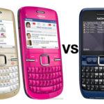 A Comparison of Nokia C3 and Nokia E63