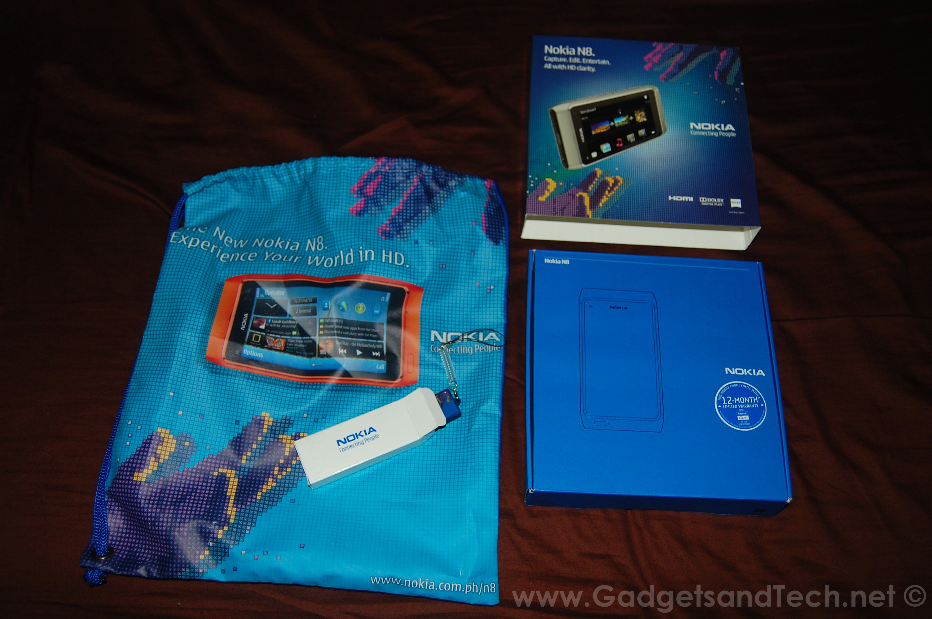 Gadgets and Tech's Nokia N8 Unboxing | Pre-Ordered in the