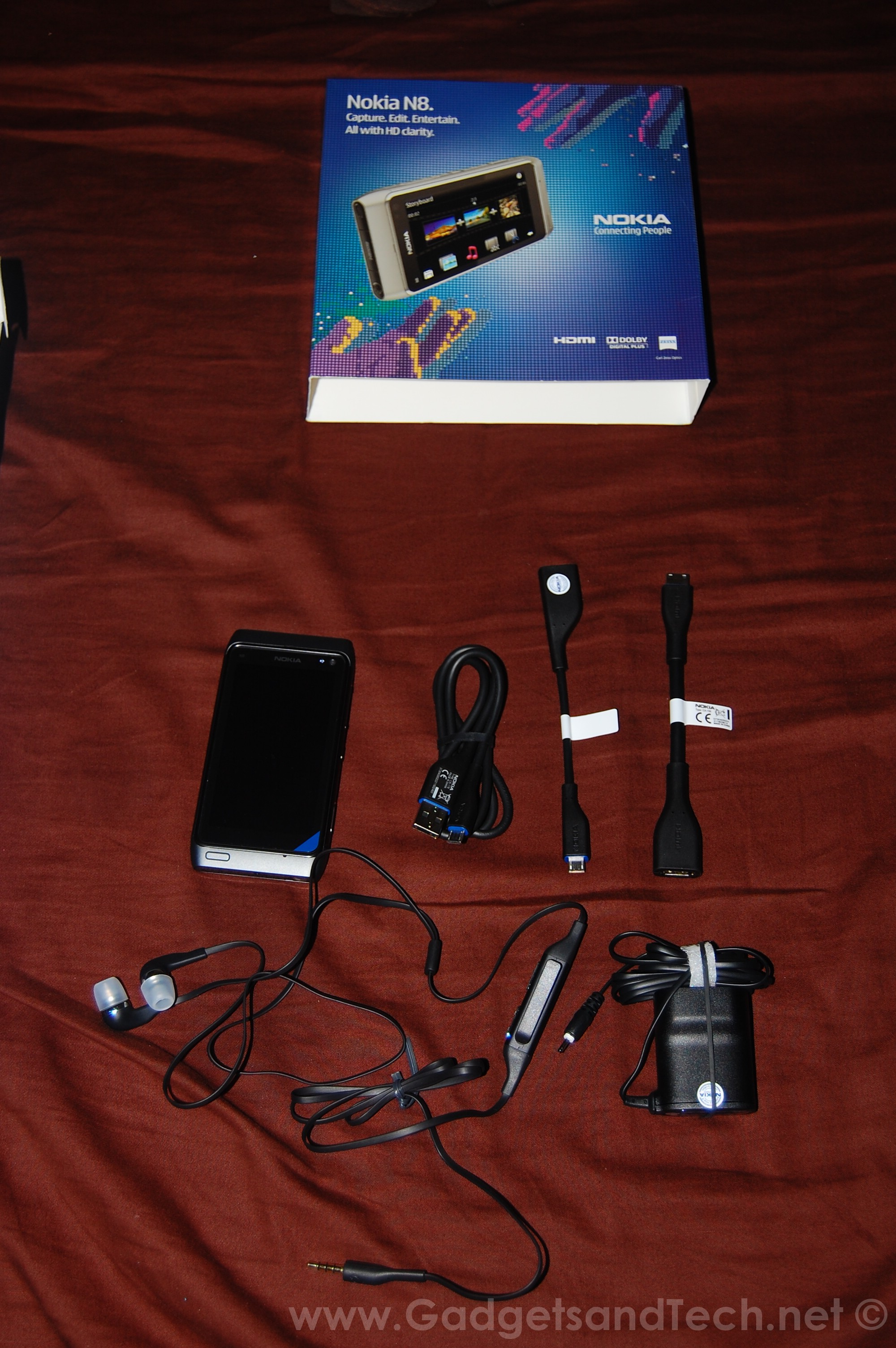 Gadgets And Tech S Nokia N8 Unboxing Pre Ordered In The