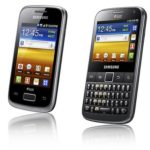 Samsung Galaxy Y Duos and Pro Duos: Dual-SIM Android Phones for Early 2012
