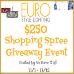 Free Blogger Sign-Up: $250 Shopping Spree on EuroStyle Lighting