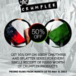 Get 50% Off on Crumpler Seedy and Splatter Series