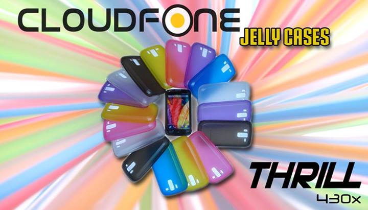 Cloudfone Thrill 430X jelly case