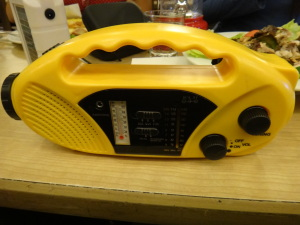 Solar Dynamo Radio with Charger and LED