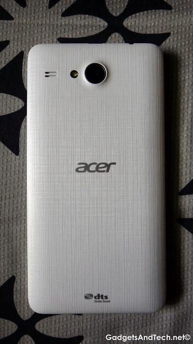 Acer Liquid Z520 back