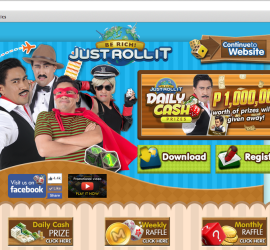 Just Roll It home page