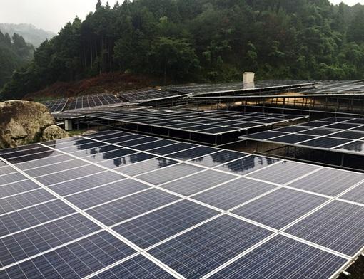 Fujisan solar panels