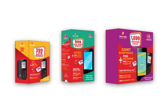 cherry prepaid phone bundle boxes