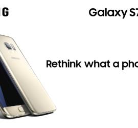 Samsung Glaxy S7 edge and S7