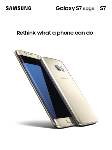 The Samsung Galaxy S7 Edge and S7