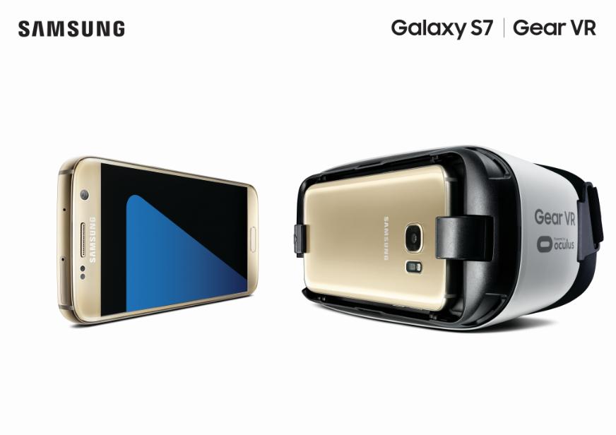 Samsing Galaxy S7 and Samsung Gear VR