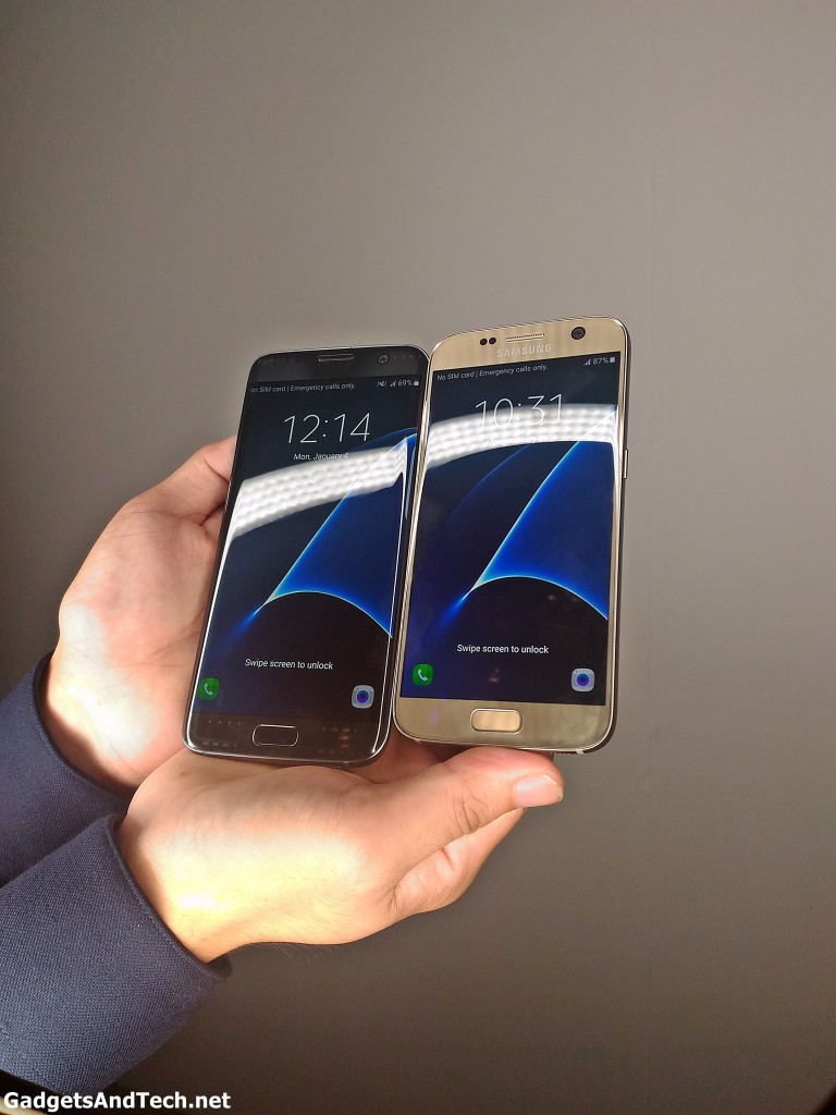 First look at Samsung Galaxy S7 Edge and S7