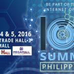 Win IoT Summit Philippines 2016 Tickets: Contest Alert!