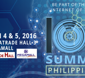 IoT Summit Philippines 2016 FB poster