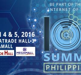 IoT Summit Philippines 2016 FB poster