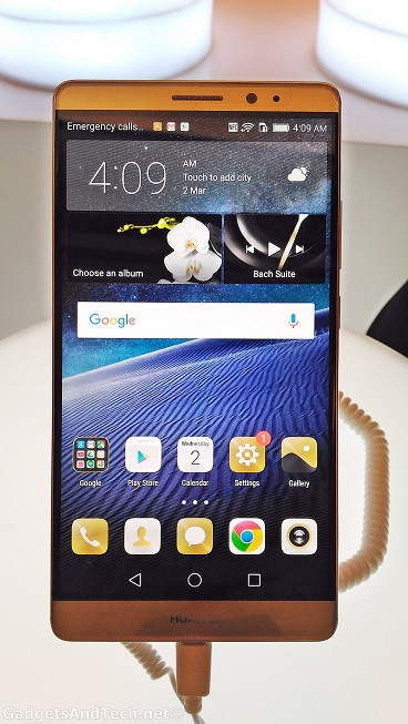 Huawei Mate 8 launch