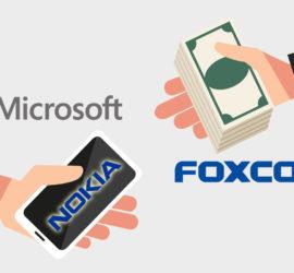 Microsoft sells Nokia to Foxconn