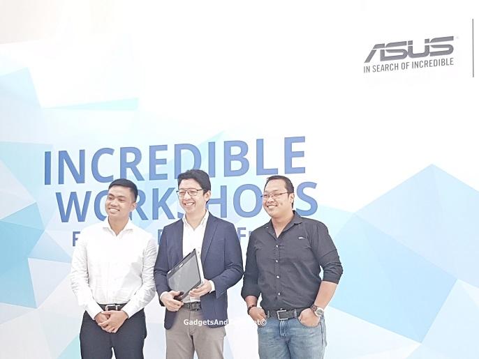 Anvey Factor, RJ Ledesma and Alvin Estacio