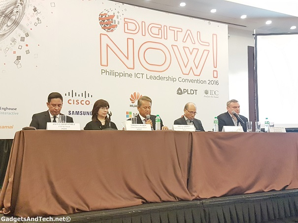 pldt and smart at the digital now! 2016