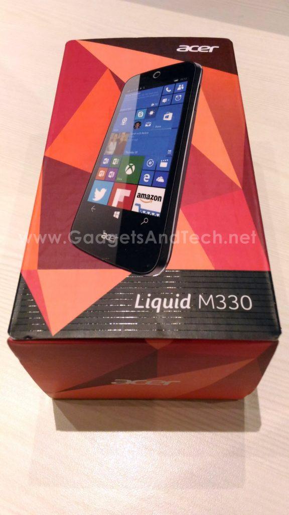 Acer Liquid M330 unboxing