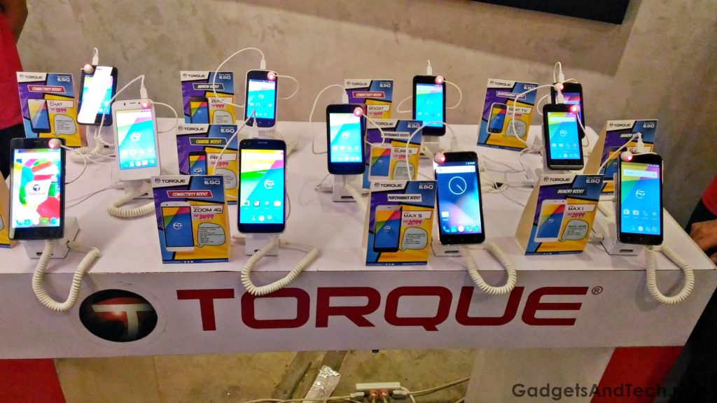 Torque Ego Series phones