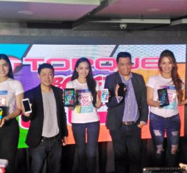 Torque Ego Series launch CEO with constiituents