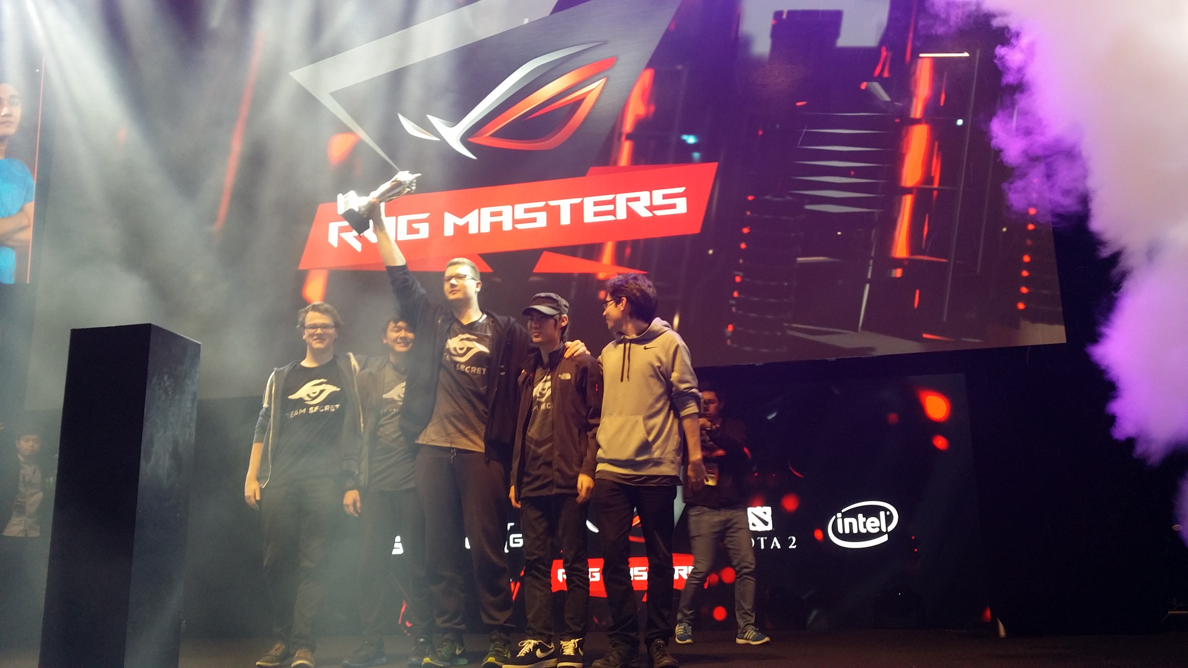 team-secret rog masters