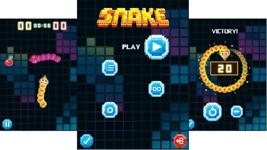 Snake on Nokia 3310