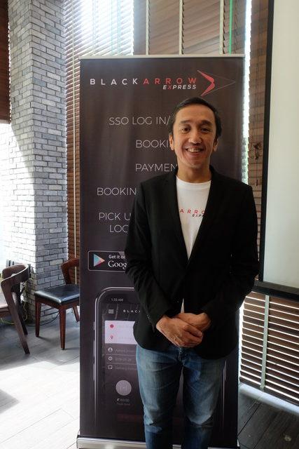 Black Arrow Express President - Allan Brizuela