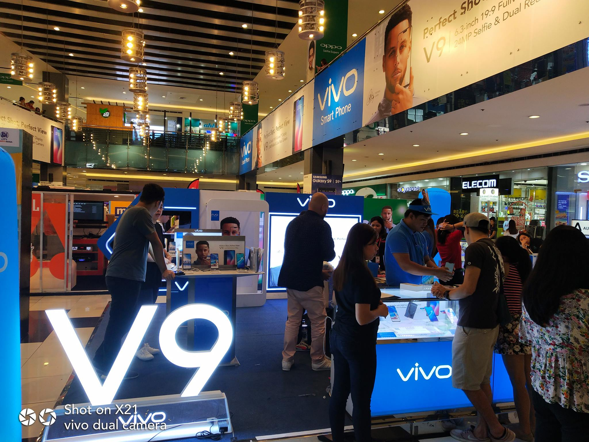 The Vivo booth at the Mobile Fest 2018