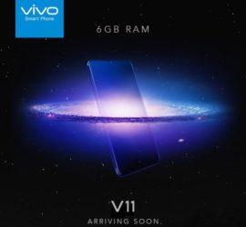 Vivo V11 Expansive Storage