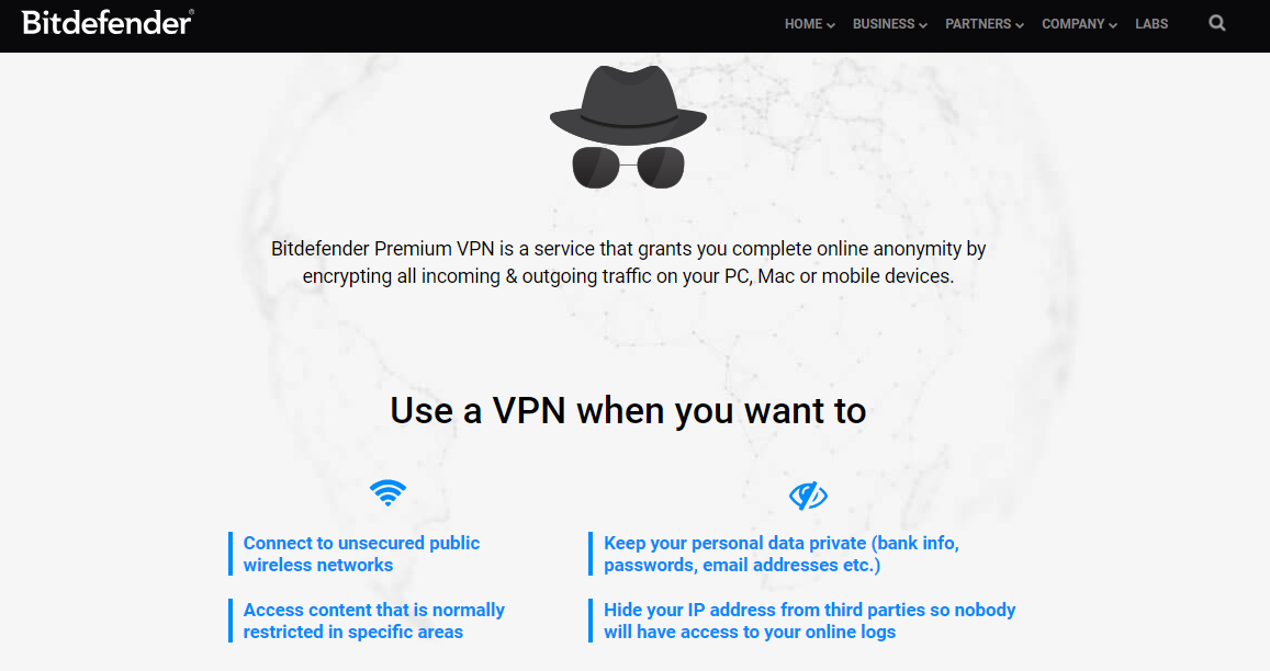 bitdefender vpn premium not working