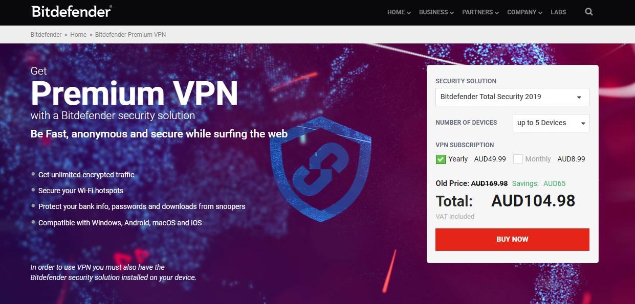 BitDefender Premium VPN