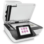 Get utmost office productivity and document security with HP Scanjet network scanner