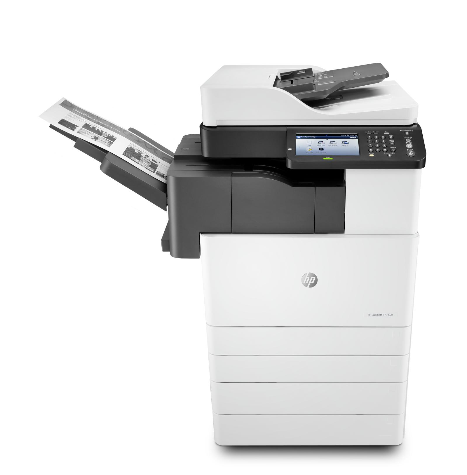 HP LaserJet MFP M72630dn photo