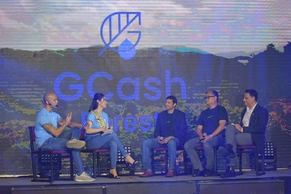 Gcash for Good World Wide Fund for Nature (WWF) Philippines Advocate and host Karen Ibasco