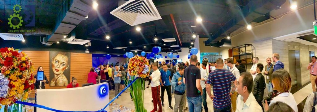 multilingual call center in the philippines event launch at Glorietta 2 corporate center