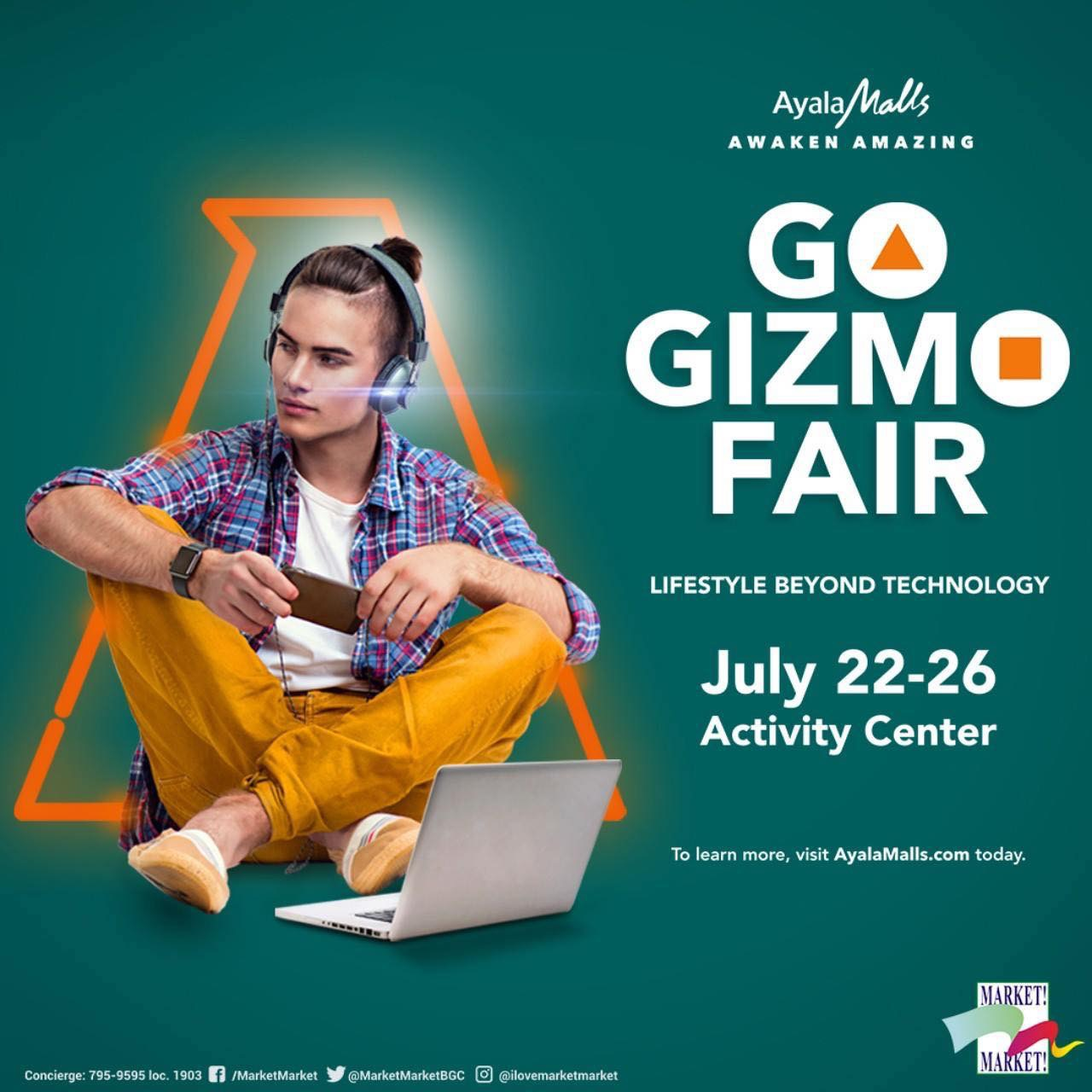 Go Gizmo Fair at Market! Market!