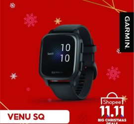 Garmin Venu Sq black