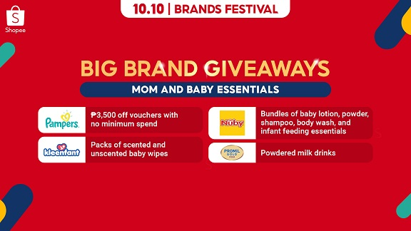 10.10 Big Brand Giveaways Mom and Baby